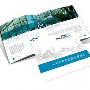 King & Shaxson brochure design