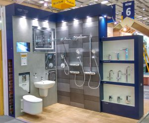 Grohe Sleep & Eat Exhibition Design & Build