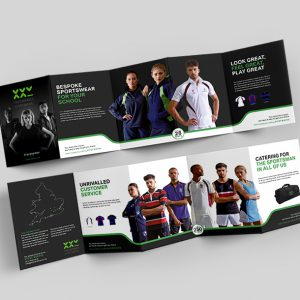 Stevensons brochure design