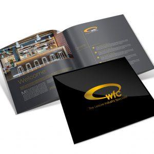 WFC brochure design