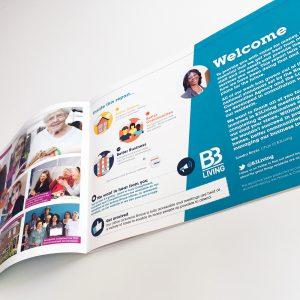B3 Report design and print