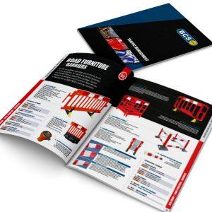 BCS catalogue design and print