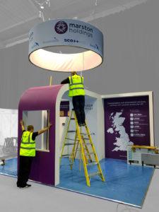 Marston Exhibition Design & Build